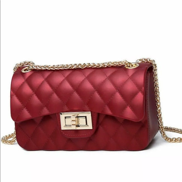 Jelly Classic Quilted shape Clutch